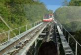 Funiculaire Sierre - Crans Montana vue amont