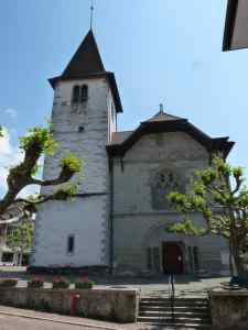 L'église de Lutry